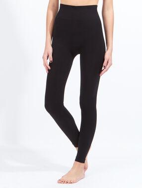 Legging en coton noir.