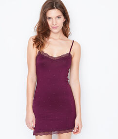Nightdress purple.