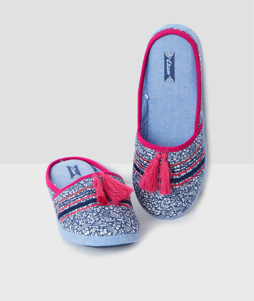 Printed slippers;${refinementColor}