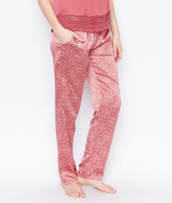 Satine printed pyjama pants rosa.