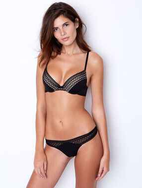 Magic up® bra black.