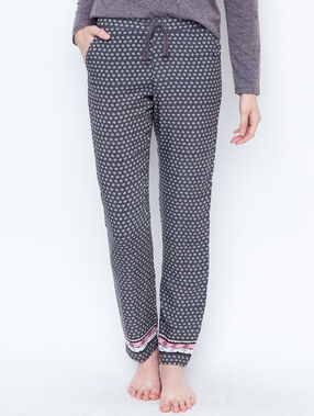 Printed trouser grey.