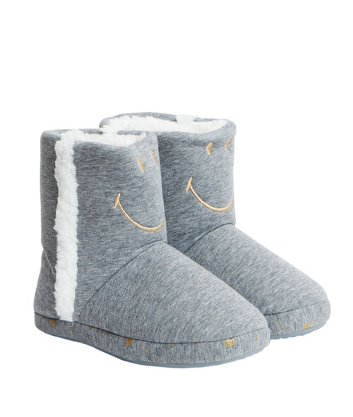 Bottines chaussons smiley