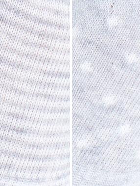 Socquette gris.