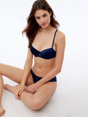 Micro knickers navy blue.