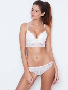 Lace magic up® bra ecru.