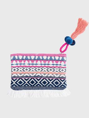 Brieftasche blau.