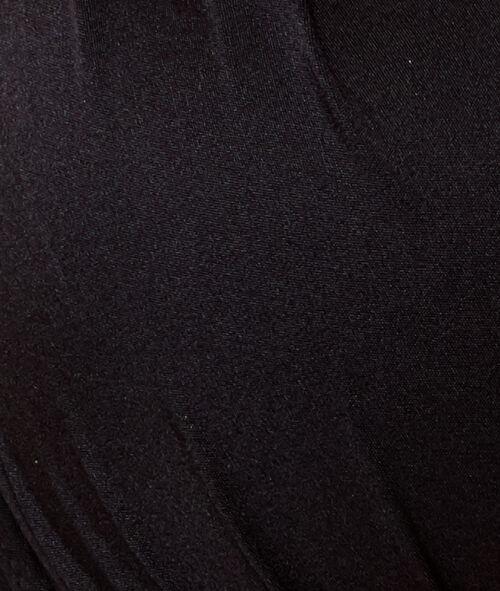 Haut de maillot de bain ampliforme matière satinée