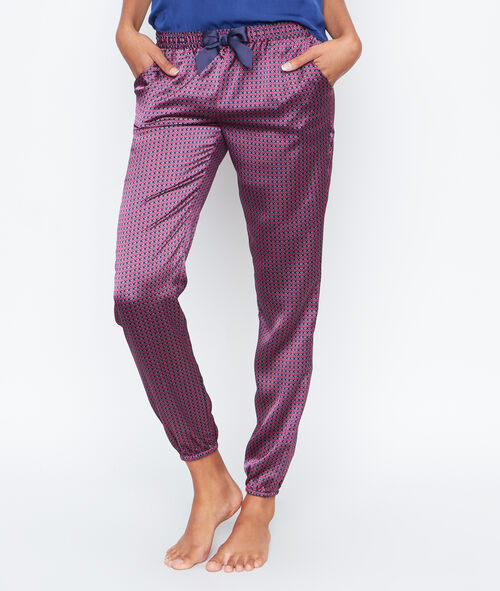 Satine printed pyjama pants