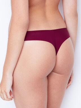 Thong burgundy.