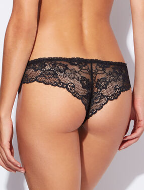 Lace hispter black.