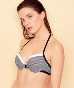 Push-up-bra black.