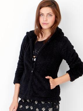 Homewear jacket black.