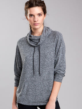 Sport-sweater grau.
