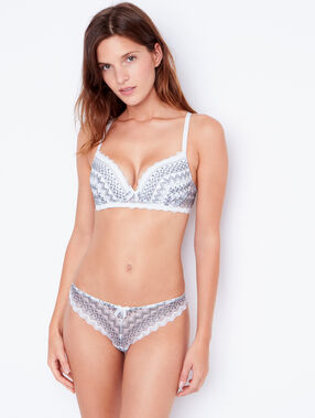 Soutien-gorge n°1 - magic up gris.