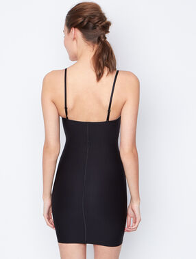 Shapewear nightdress black.
