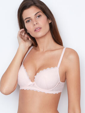 Lace magic up® bra pink.
