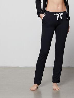 Pyjama pants black.
