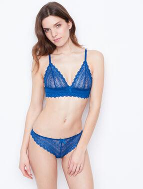 Triangle-bh aus spitze blau.