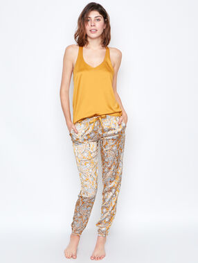 Satine lace top yellow.