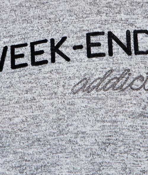 T-shirt épais à message