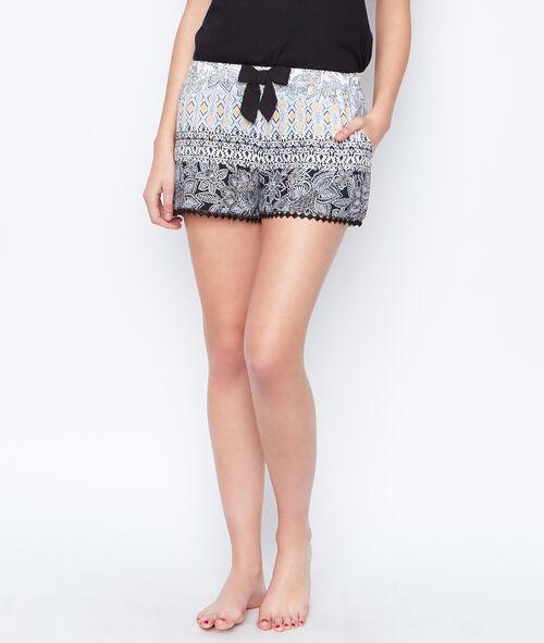 Printed pyjashort