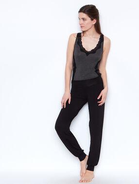 Pyjamahosen black.
