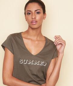 Camiseta swildens caqui.
