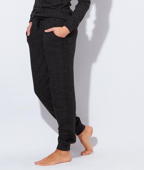 Pantalon maille chinée