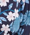 Déshabillé kimono imprimé fleuri