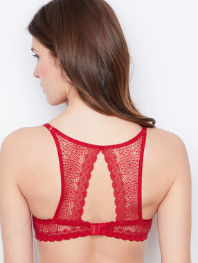 Push-up-bra red.