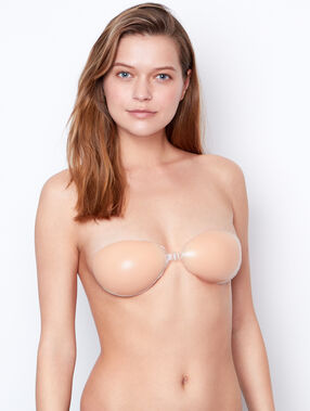 Silicone bra nude.