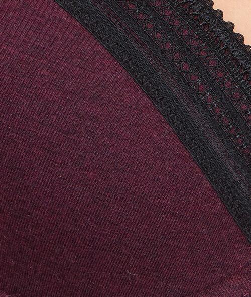 Soutien-gorge ampliforme coton;${refinementColor}