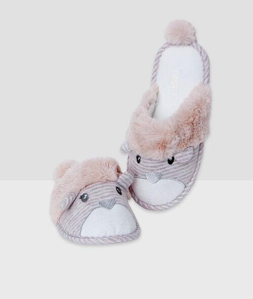 Animals slippers;${refinementColor}