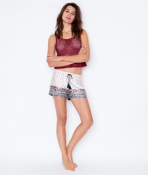 Pyjama short;${refinementColor}