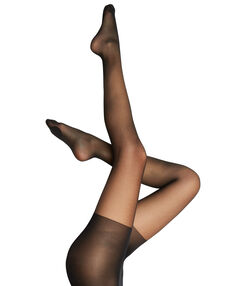 Collants voile sculptant, 15d noir.