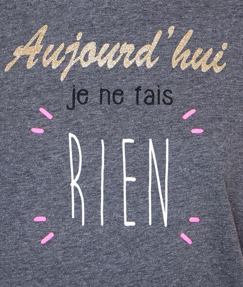 T-shirt à message;${refinementColor}