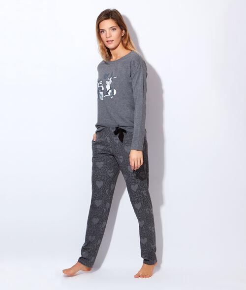 Pyjama 2 pièces panpan