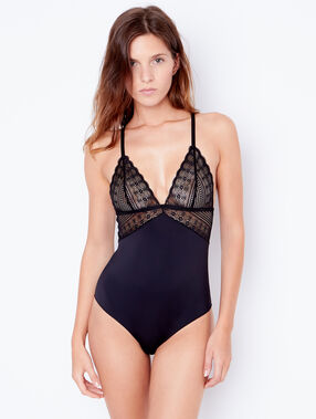 Lace body black.