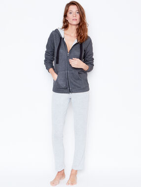 Jacket grey.