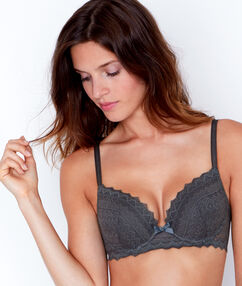 Lace magic up® bra khaki.