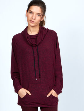 Sport sweater bordeaux.