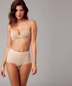 Hight waisted knickers beige.