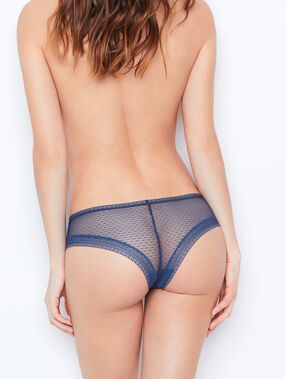 Lace hipster blue.
