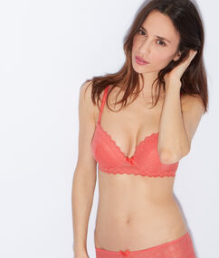 Soutien-gorge magic up® corail.