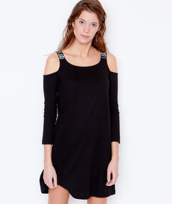 Nightdress black.