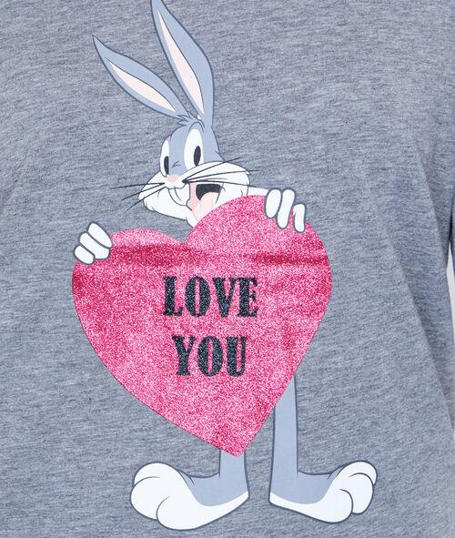 Top imprimé Looney Tunes;${refinementColor}