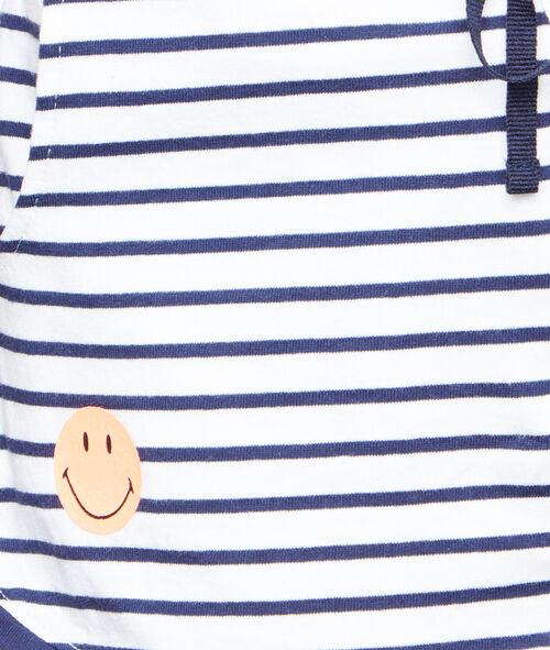 Short Smiley imprimé au dos