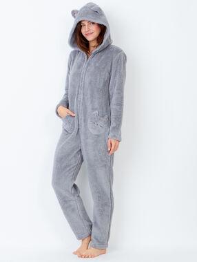 Cat jumpsuits grey.