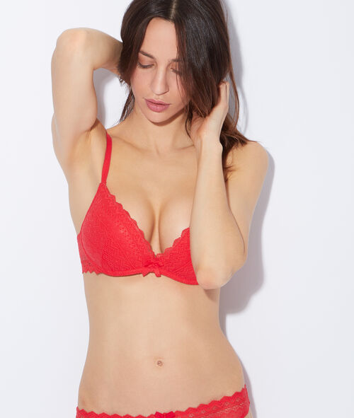 Soft bra : push up sans armatures